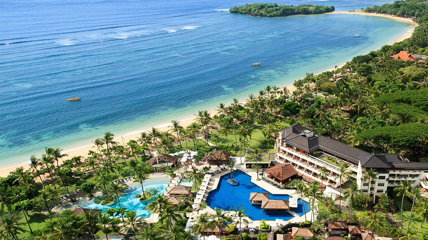 Nusa Dua Beach Hotel Spa 5 Star Luxury At Nusa Dua Beach